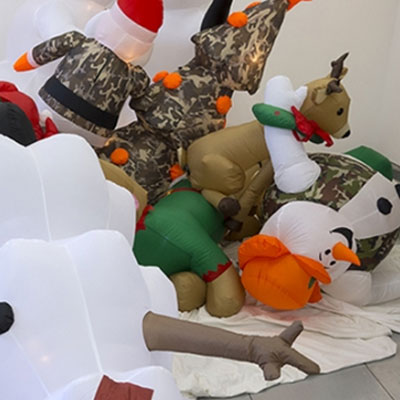 Birth Death Breath: An Inflatable Opera by Diane Christiansen and Jeanne Dunning