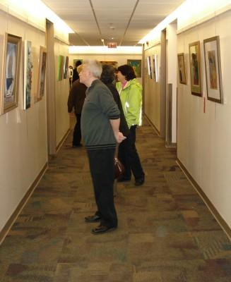 """NUHS """"Open"""" Fine Art Show -- Art Opening Reception"""
