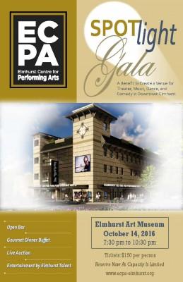 Spotlight Gala Benefiting Elmhurst Centre for Performing Arts