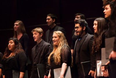 Chamber Singers and Concert Choir