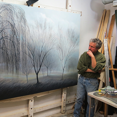 Live Painting Demo by Didier Nolet