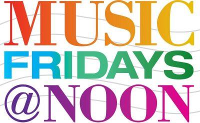 Music Fridays @ Noon - Rebecca Rae