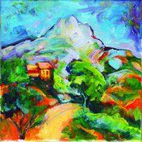 Cézanne Landscape