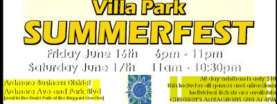 Villa Park Summer Fest