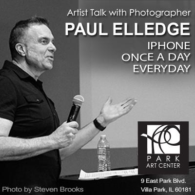 ARTIST TALK WITH PHOTOGRAPHER PAUL ELLEDGE