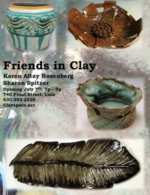 Friends in Clay Gallery Opening at ClaySpace