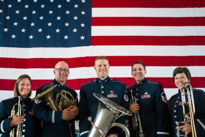 U.S. Air Force Band of Mid-America Mobility Brass Quintet