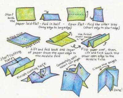 Origami Accordion Book