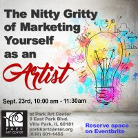 The Nitty Gritty of Marketing Yourself as an Artist