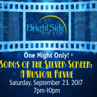 BrightSide Theatre's Annual Fundraiser- Songs of the Silver Screen: A Musical Revue