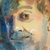 Watercolor Demo by Dan Danielson