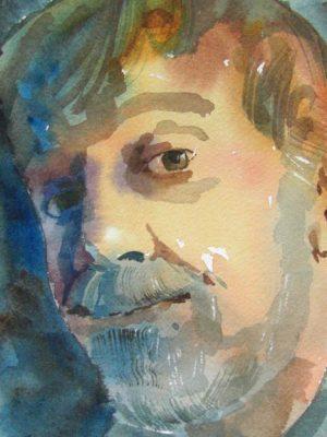 Watercolor Demo by Dan Danielson