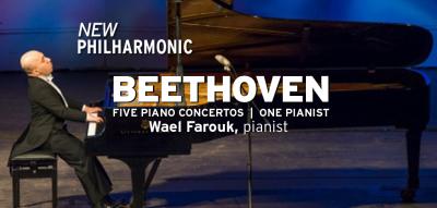 New Philharmonic: Beethoven - Five Concertos, One ...