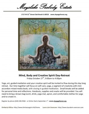 Mind Body and Creative Spirit 1-Day Retreat
