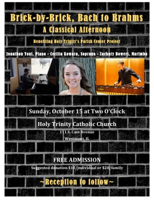 Brick by Brick Bach to Brahms: A Classical Afternoon