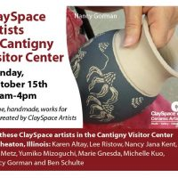 ClaySpace Artists at Cantigny Visitor Center