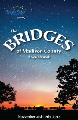 BrightSide Theatre presents THE BRIDGES OF MADISON COUNTY