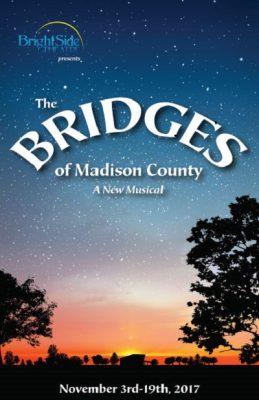 BrightSide Theatre presents THE BRIDGES OF MADISON...