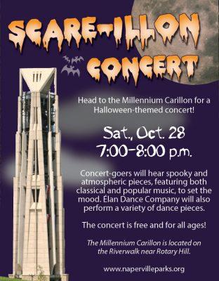 Naperville Park District's Scare-Illon Concert