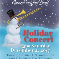American Wind Band Holiday Concert