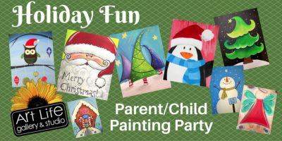 Holiday Fun Parent / Child Painting Party