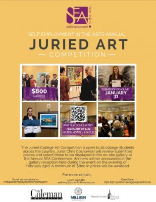 Attention College Students: Juried Art Competition