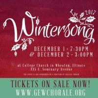"The Glen Ellyn-Wheaton Chorale presents ""Wintersong"""