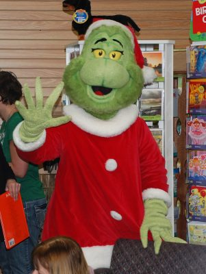 "Grinch Holiday Storytime Wrap Up ""Party"