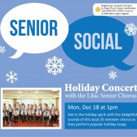 Holiday Concert with Lilac Senior Chorus