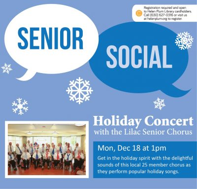 Holiday Concert with Lilac Senior Chorus