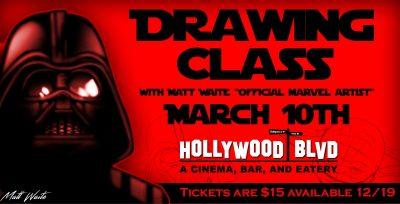 Drawing Class with Matthew Waite
