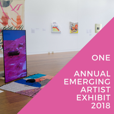 ONE: Cleve Carney Art Gallery Annual Emerging Artist Exhibit 2018