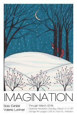 Imagination Solo Exhibit – Artwork of Valerie Lo...