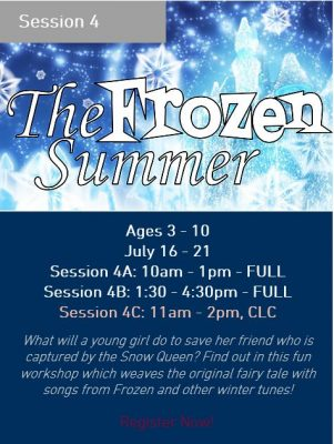 Broadway Workshop Series: The Frozen Summer