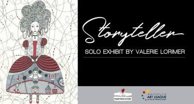 Valerie Lorimer Solo Exhibit, Storyteller – A fu...