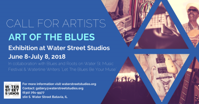 "Call for Artists: ""Art of the Blues"" Exhibition"