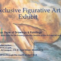 Life Drawing Group Exhibition April 2018