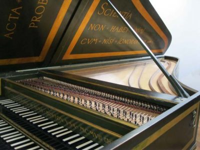 Thursday@Noon: Wheaton's New Harpsichord & Clavichord, Edward Zimmerman with Jeremy Ward