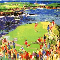 LeRoy Neiman Golf Collection
