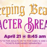 "Overshadowed Theatrical Productions' ""Once Upon a Time"" Sleeping Beauty Character Breakfast"