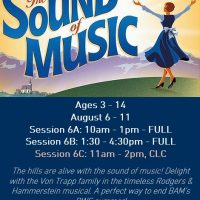 Broadway Workshop Series: Sound of Music