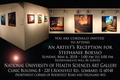 Artist Reception of Stephanie Boesso