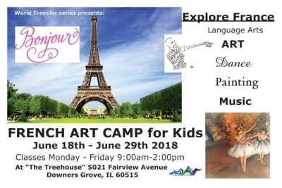 FRENCH ART CAMP for KIDS 2018