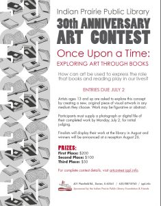 Indian Prairie Public Library 30th Anniversary Art Contest