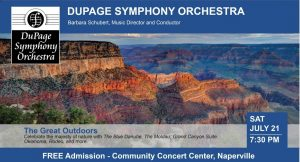 """DSO presents """"The Great Outdoors"""""""