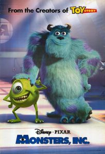 Movies in the Park: Monsters Inc.