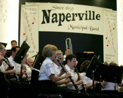"Naperville Municipal Band: ""Forward March"""