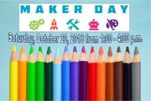 Maker Day at the Wheaton Public Library - Presenters Wanted!