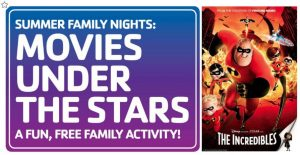 Movies Under the Stars: The Incredibles