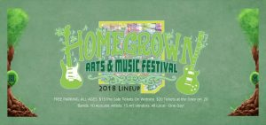 6th Annual Homegrown Arts and Music Festival 2018